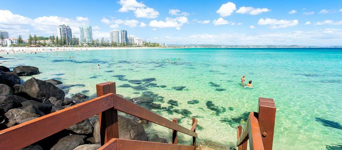 Best beach Gold Coast